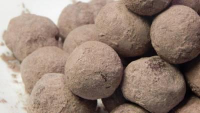 Truffes au chocolat véganes