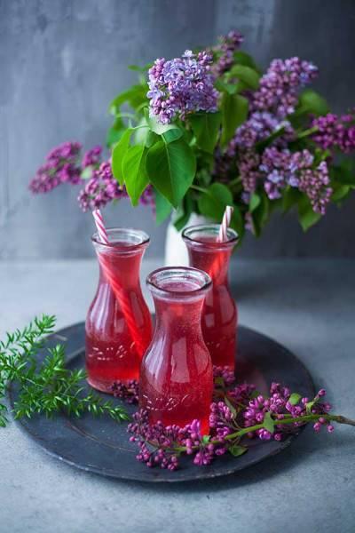Limonade à l'eau de coco et aux cranberries