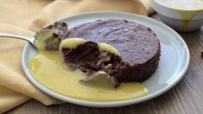 Crème anglaise végane inratable