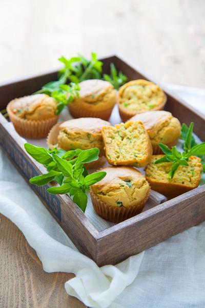 Muffins salés aux herbes