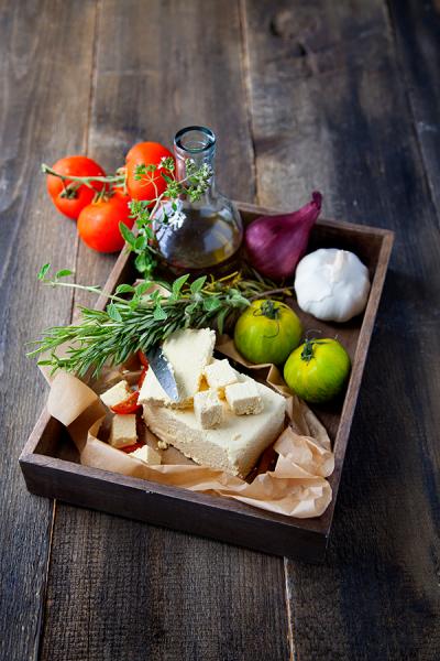Feta végétale lupin-tofu