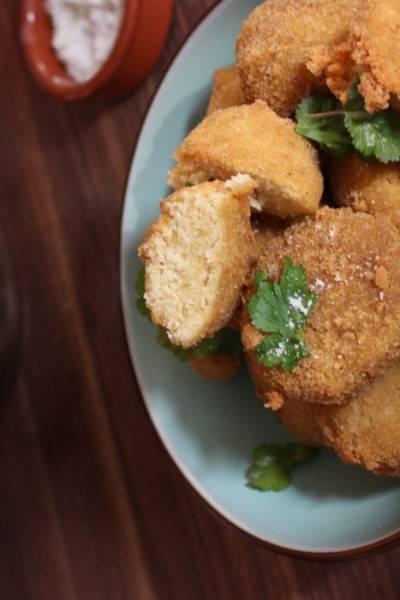 Nuggets à l'okara de soja