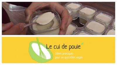 Yaourt au lait de soja maison