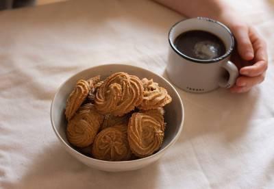 Biscuits sablés au café