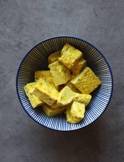 Tofu maison, nature ou aromatisé
