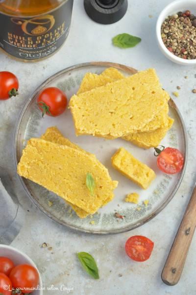 Corn bread, ou gâteau de maïs moelleux et végan