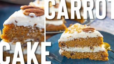 Carrot cake moelleux et crémeux