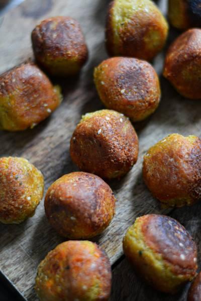 Falafels simplissimes aux pois chiches cuits