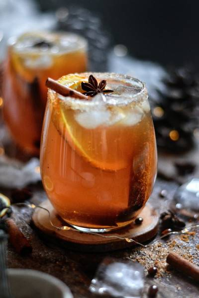 Cocktail Earl Grey - bourbon