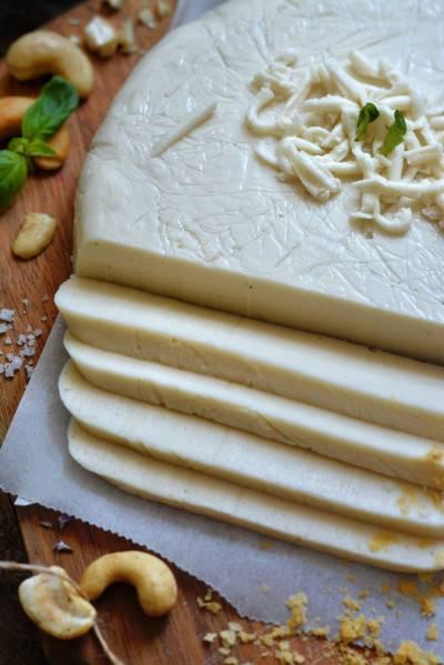 Mozzarella végétale au tapioca