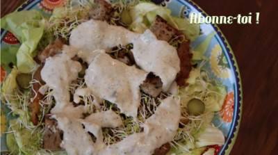Salade Caesar végane d'Éva