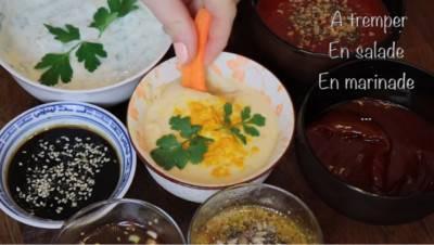 3 recettes de sauces asiatiques véganes
