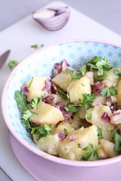La meilleure recette de salade de pomme de terre