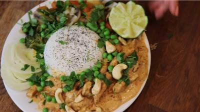 Voulet de PST au curry