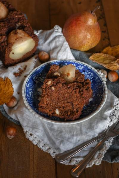 Cake aux poires et au chocolat