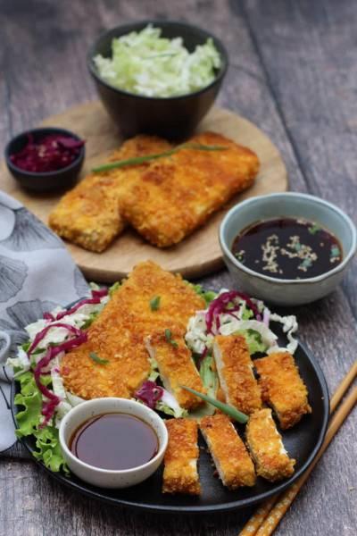 Tofu pané façon tonkatsu