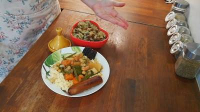 Couscous marocain végan d'Éva