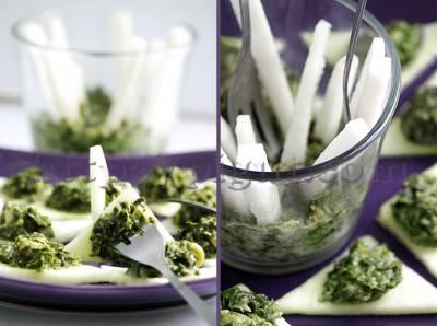 Tartare d'algues fraiches et céleri