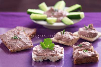 Rillettes de haricots rouges