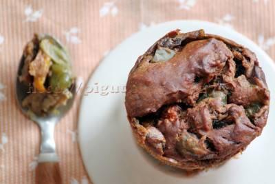 Muffins de légumes végans