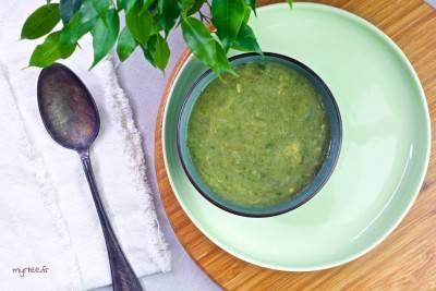 Soupe laitue-pommes de terre