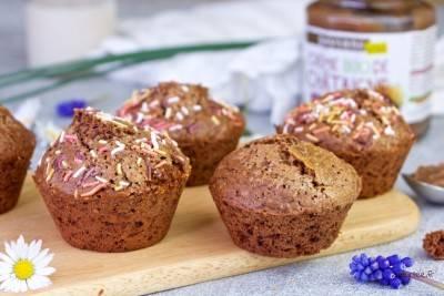 Muffins au chocolat à la châtaigne