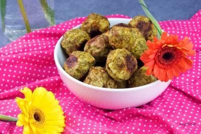 Boulettes de pommes de terre au brocoli