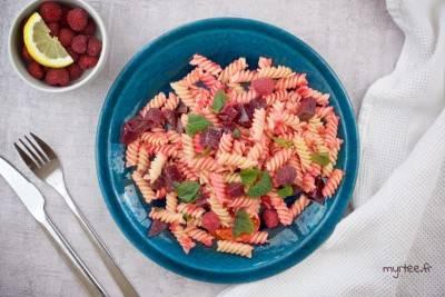 Salade de pâtes à la betterave