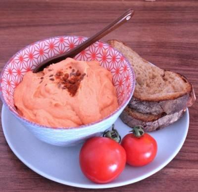 Dip à la noix de cajou et tomate