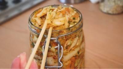 Légumes lactofermentés façon kimchi