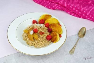 Porridge végan au sarrasin