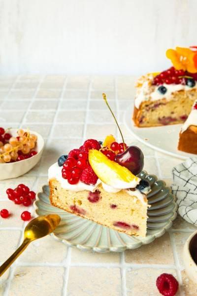 Gâteau végan facile