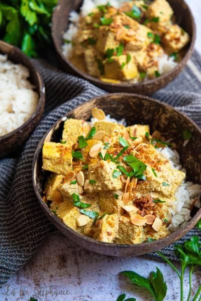 Curry de tofu facile et rapide