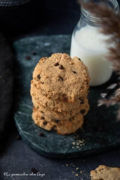 Cookies végans aux haricots blancs