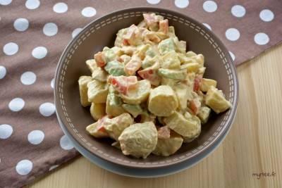 Salade de pommes de terre à la mayonnaise végane