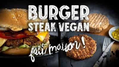 Steak végan aux protéines texturées