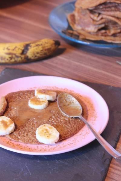 Pancakes végans sans gluten