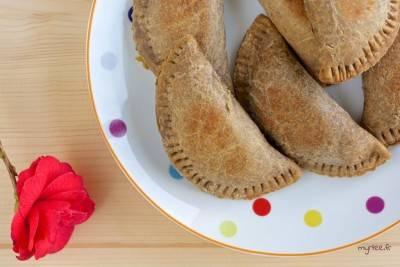 Empanadas poireau – fromage végétal