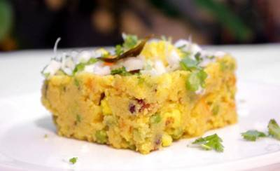 Semoule aux légumes à l'indienne