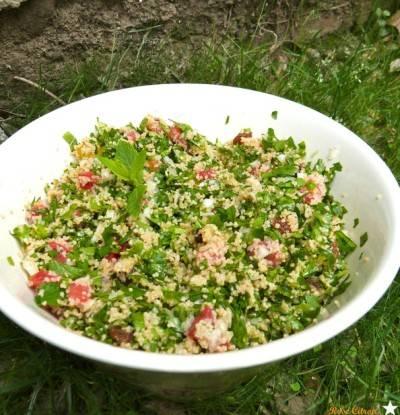 Taboulé de chou kale