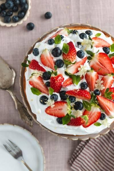 Gâteau au yaourt végan au citron