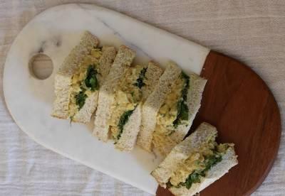 Sandwich végan au faux thon-mayo