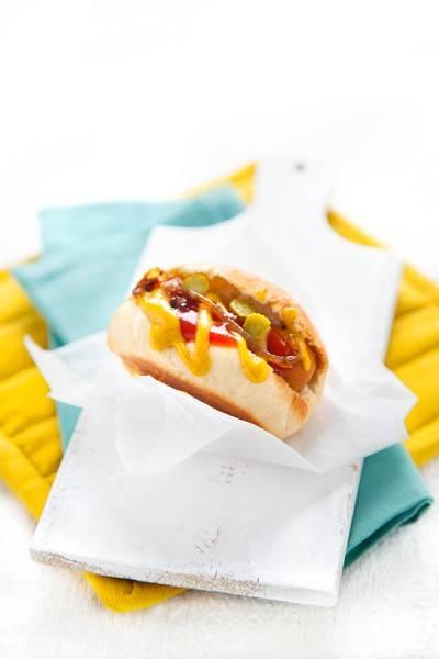 Pain à hot-dog végan