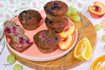 Muffins végans et sans gluten