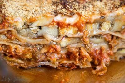 Lasagnes à la bolognaise véganes