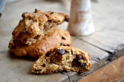 Biscuits végans abricots secs – chocolat