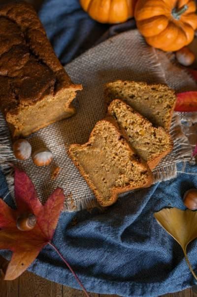 Pumpkin bread végan