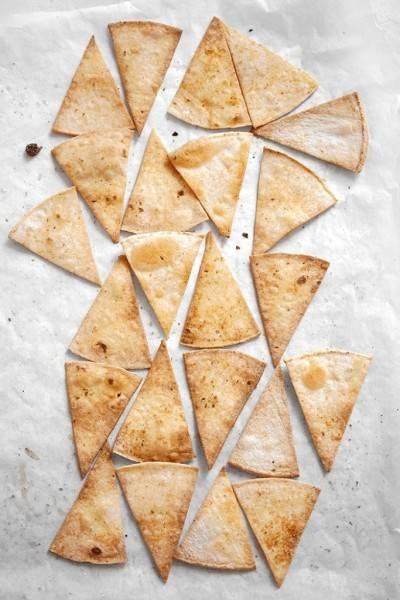 Chips de tortilla sans gluten