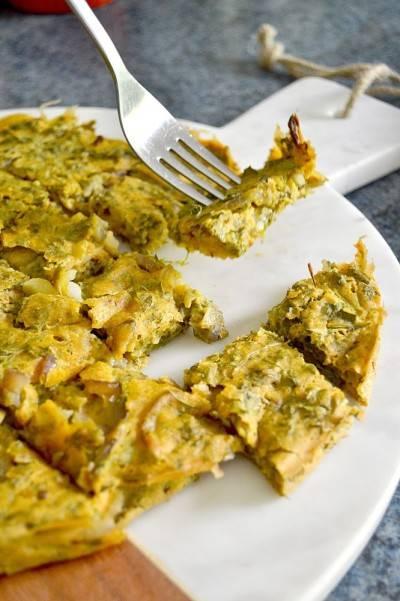 Tortilla-frittata végétale parfaite