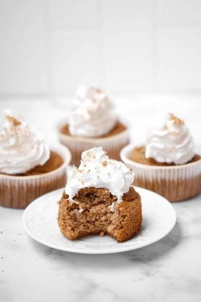 Cupcake sans gluten à la banane